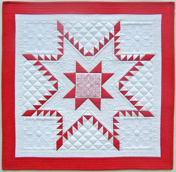 Aurora Feathered Star Quilt Tutorial