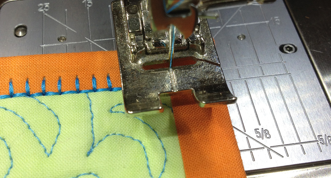 Blanket Stitch Tip For Binding WeAllSew Magnificent Blanket Stitch On Sewing Machine