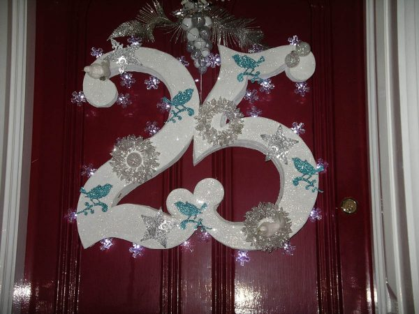 Holiday Preparation - Door Wreath