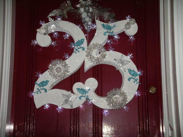 Holiday Preparation - Door Wreath