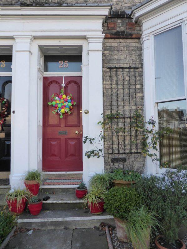 Holiday Preparation - Door Decoration