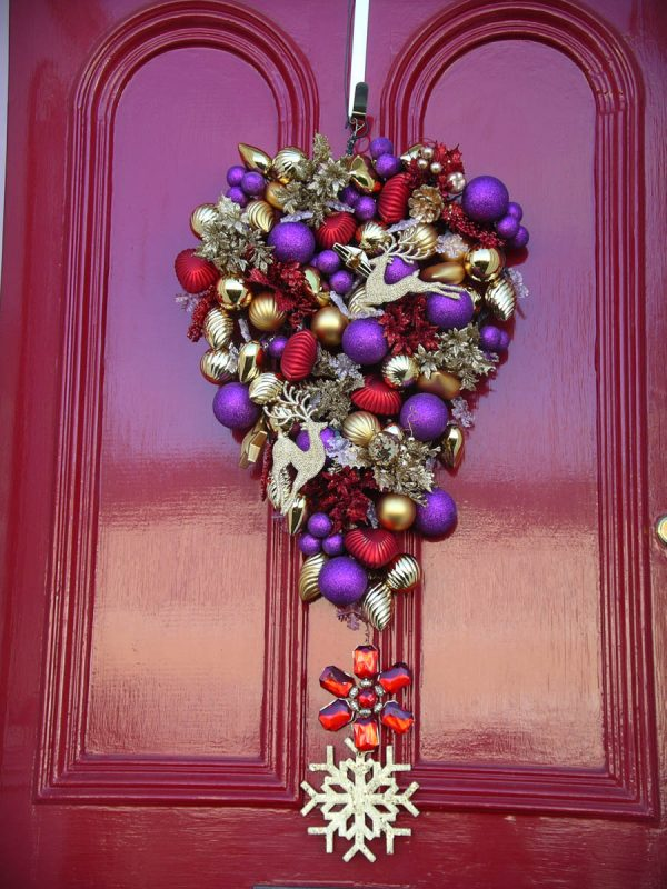 Holiday Preparation Wreath for the door