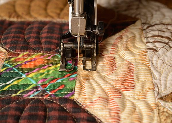 Natural Sewing Speed Stitching in the Ditch