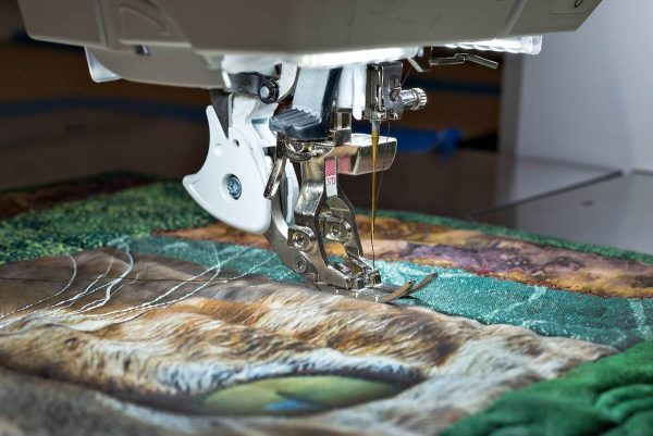 Natural Sewing Speed with BERNINA Patchwork Foot 37 D