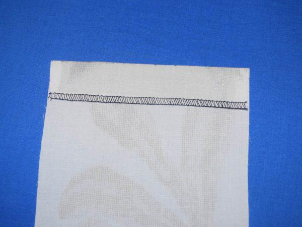Patch Pocket Tutorial - creating the upper hem