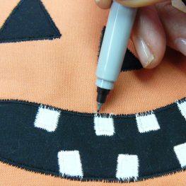 How to make a Pumpkin Mini Quilt