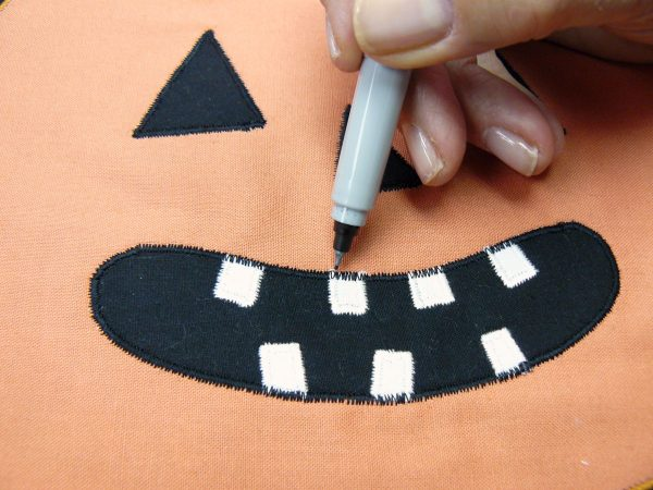 How to make a Pumpkin Mini Quilt