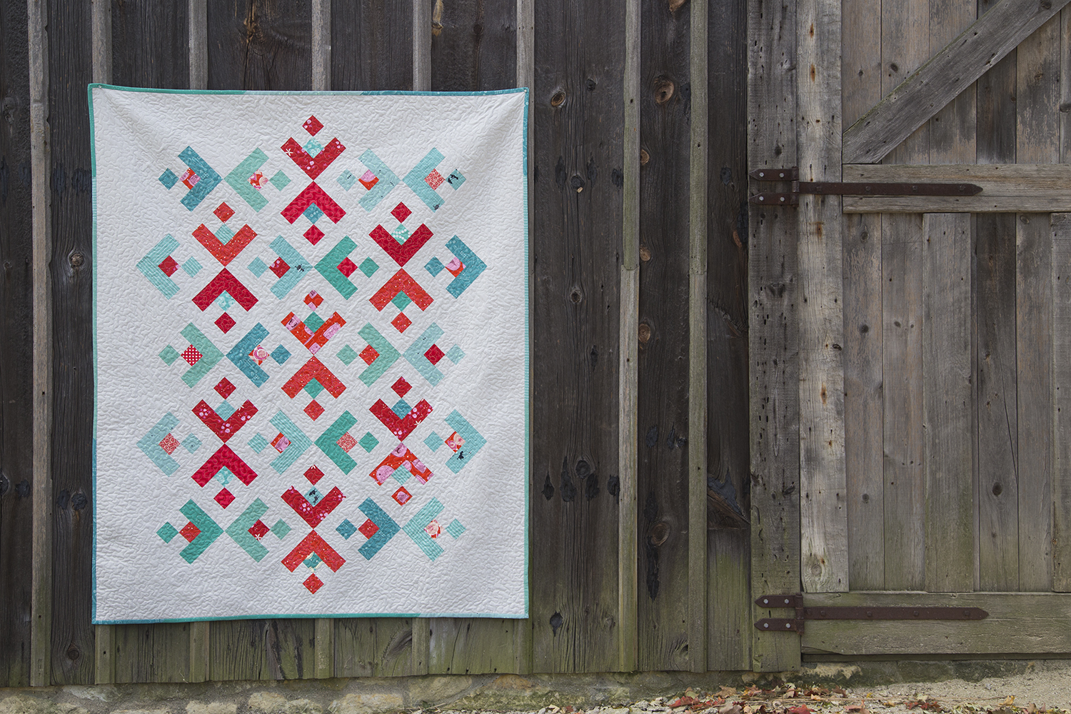 Snowflake Quilt Finish
