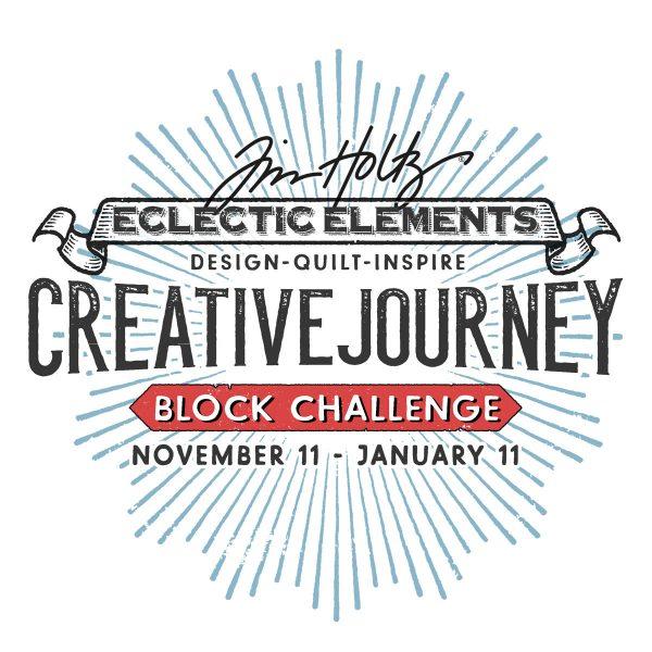 BERNINA sponsors Tim Holtz Block Challenge