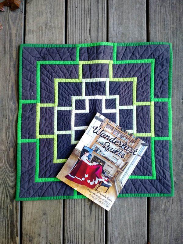 Wanderlust Quilts book by Amanda Leins