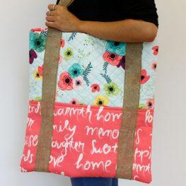 Crisscross Tote Bag Tutorial