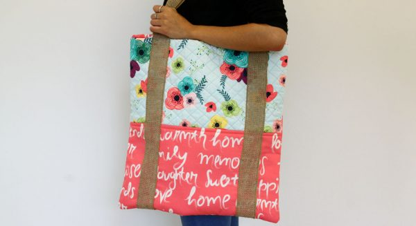 Crisscross Tote Bag Tutorial