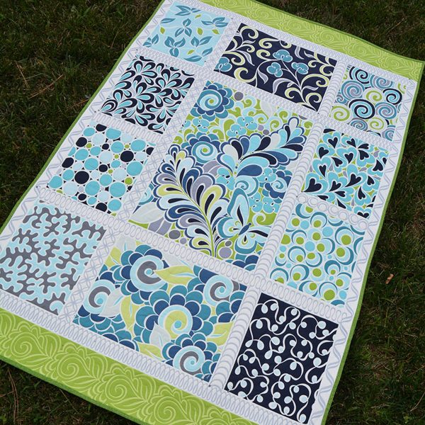 Free-motion Quilting Panels designed by Amanda Murphy