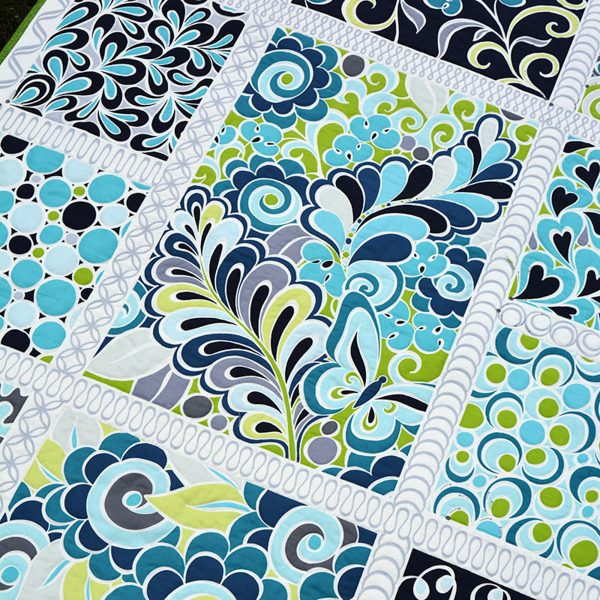 Free-motion Quilting Sampler by Amanda Murphy