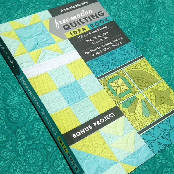 The Free-Motion Quilting Idea Book by Amanda Murphy