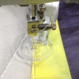 Quilt Embellishing with decorative stitches