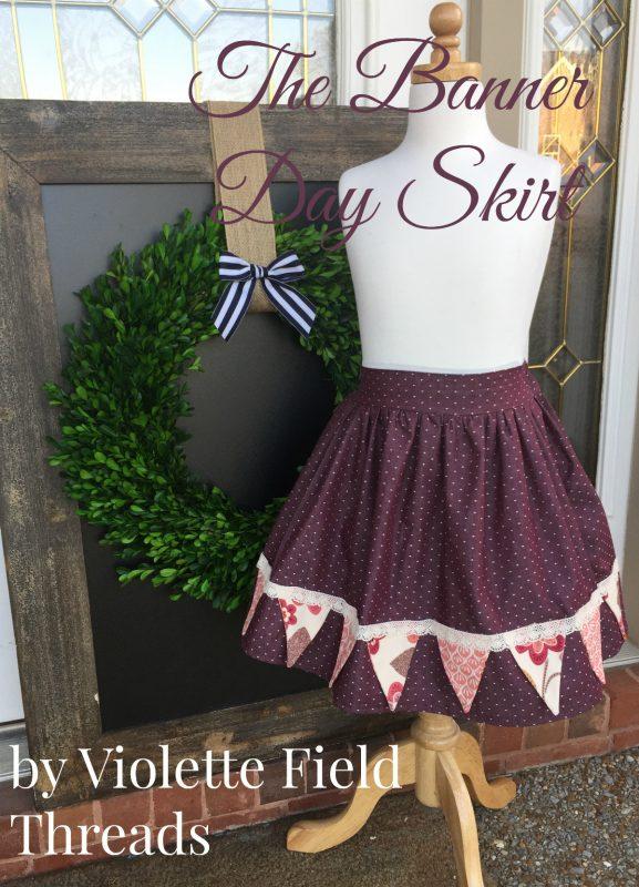 Banner Day Skirt Tutorial