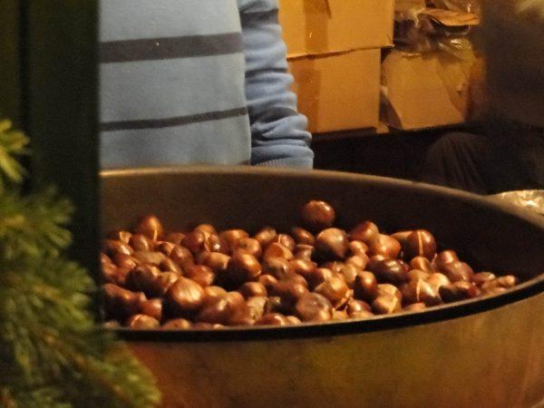 Christmas Season - Some fresh roasted chestnuts