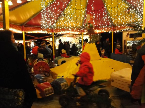 Christmas Season in Konstanz -Carousel Ride