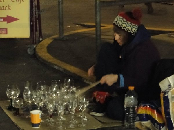 Christmas Season in Konstanz - tuned goblets