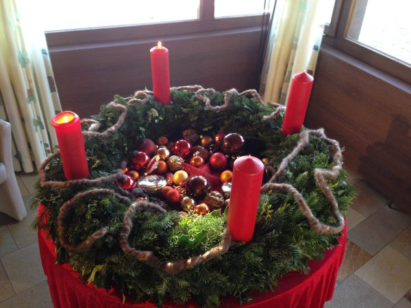Christmas Season in Steckborn Switzerland - Florist