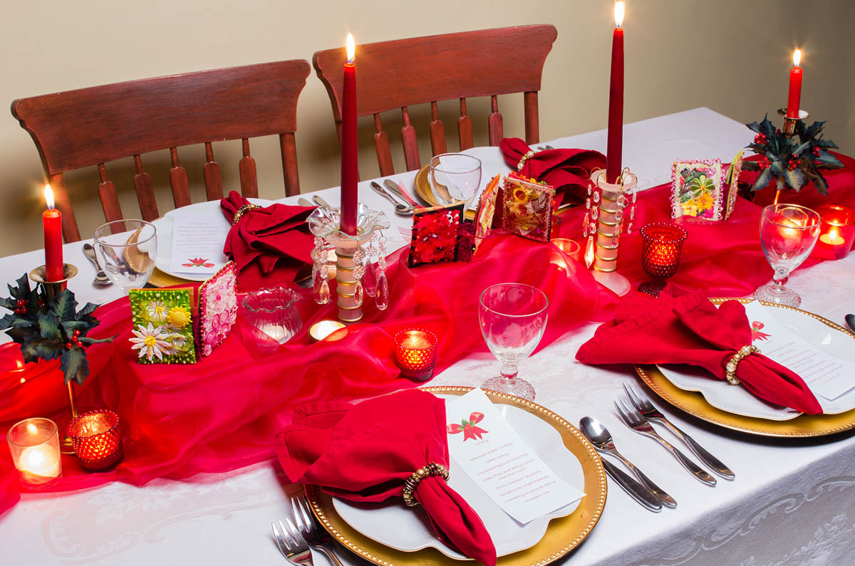 christmas table decoration tips