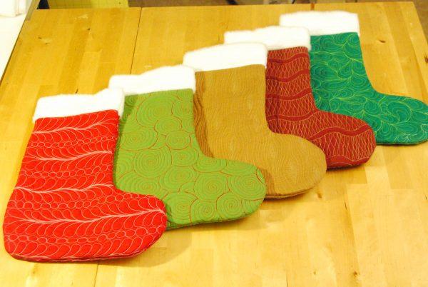 Free-Motion Christmas Stocking Tutorial