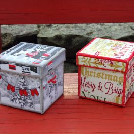 Holiday Fabric Boxes