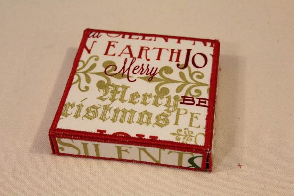 Holiday Fabric Boxes - Lid
