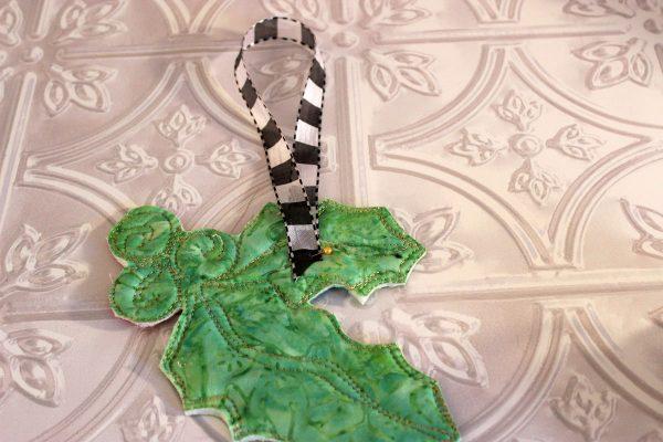 Holly Jolly Ornament Tutorial