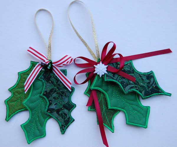 Holly Leaf Ornament
