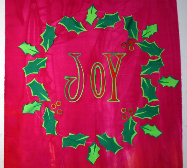 JOY Fused Art Quilt