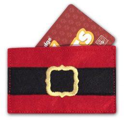 Santa Pants Gift Card Holder Tutorial