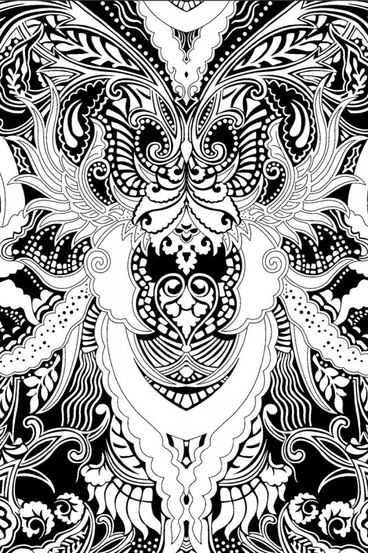 Fantastical Designs Coloring book by P Nadelstern