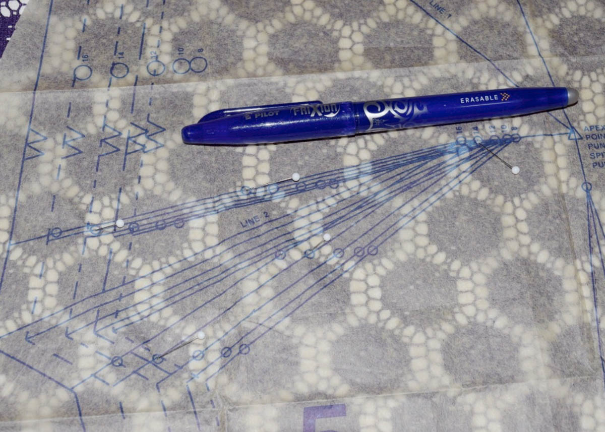size 40 886cf bdd3a Darts with Lace Overlay   WeAllSew