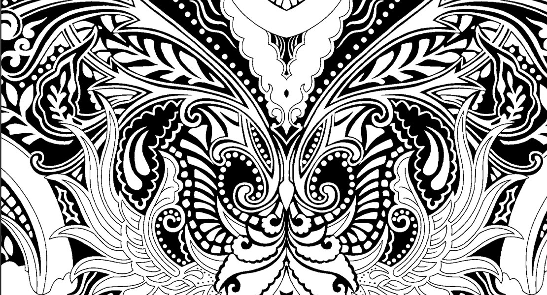 fantastical styles coloring pages - photo#22