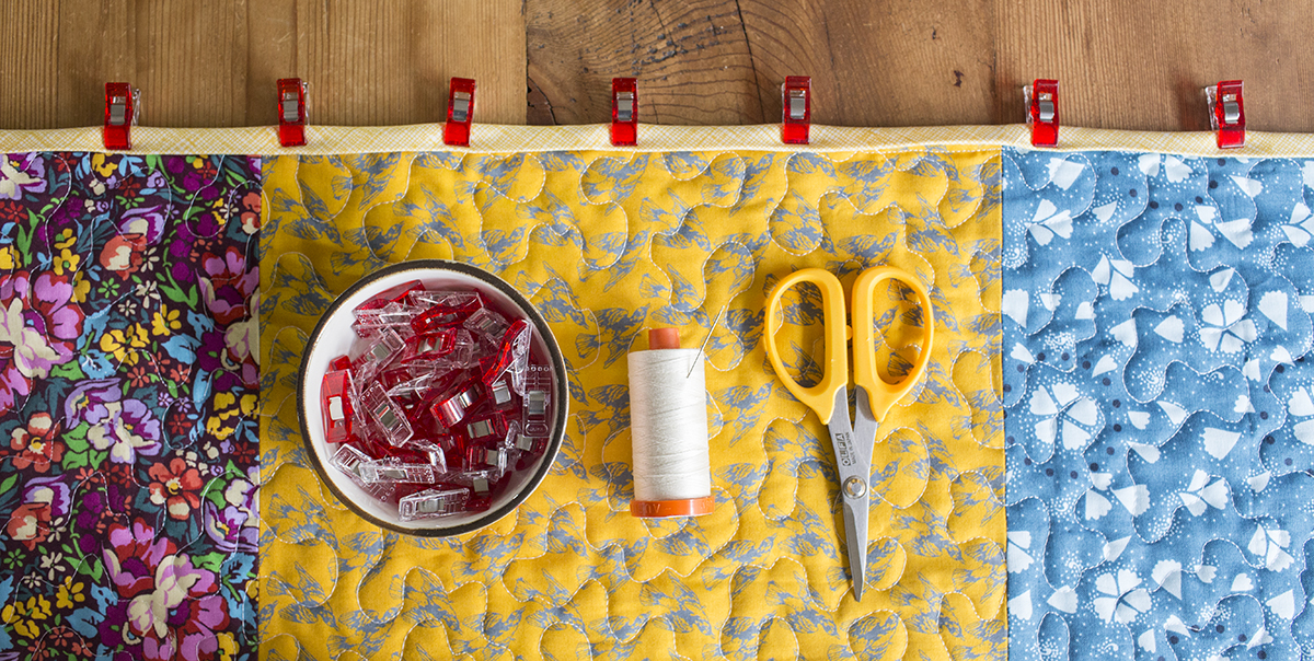 How To Bind A Quilt Using Double Fold Binding Weallsew