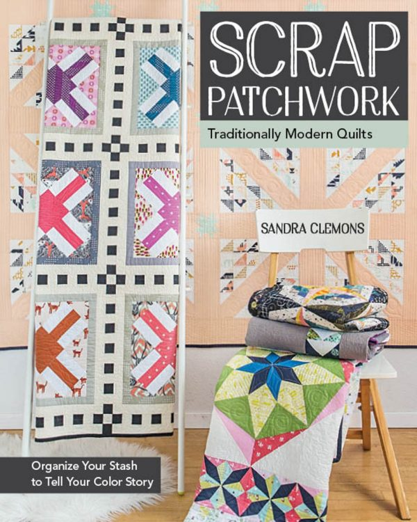 Scrap Patchwork book by Sandra Clemons