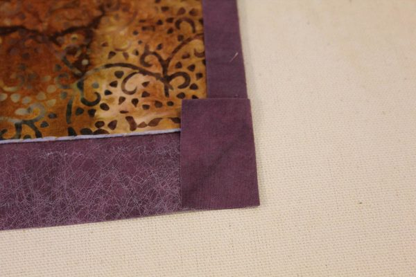 Fabric Message Board Tutorial - binding