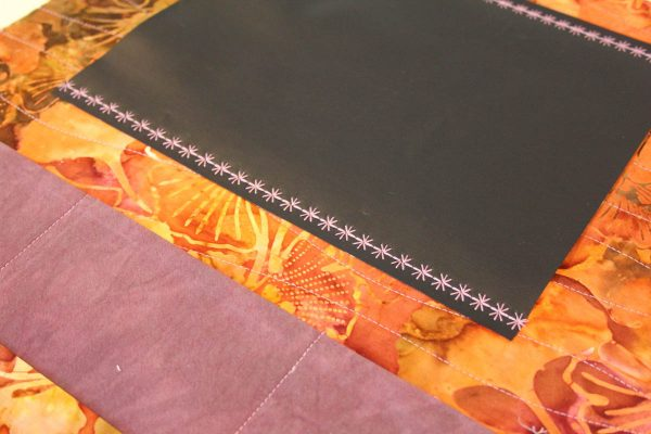 Fabric Message Board Tutorial - Fabric Message Board Tutorial - sewing the chalkboard fabric
