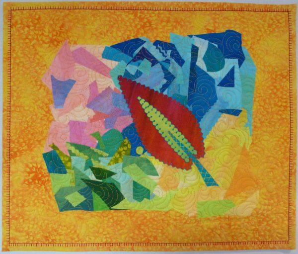 Leaf of Faith by Laura Wasilowski