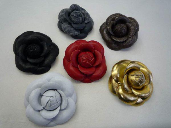 Handmade Leather Flowers