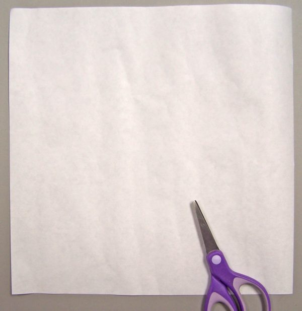 No-Mark Quilting Tip - cut freezer paper