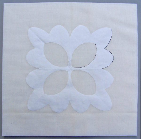No-Mark Quilting Tip - Paper Pattern