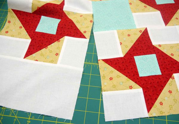 Pieced partial seams
