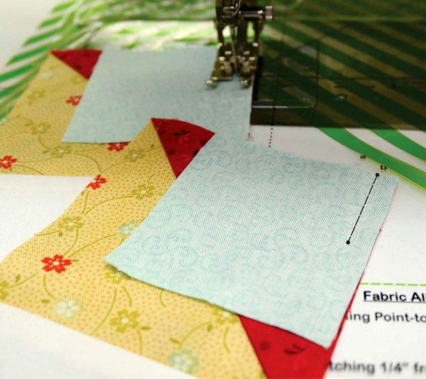 How to piece partial seams