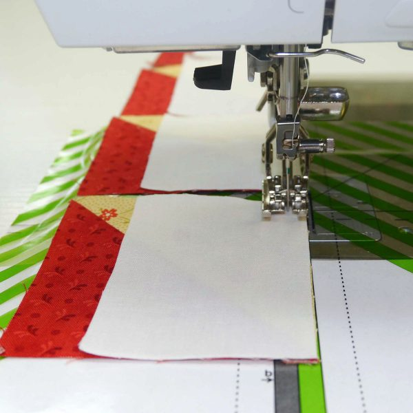 How to sew partial seams in quilting