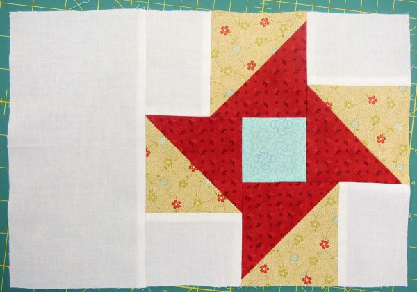 Piecing partial seams