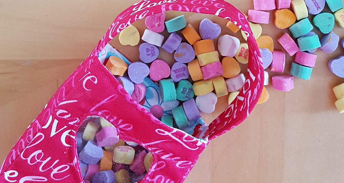 Valentine Treat bag tutorial
