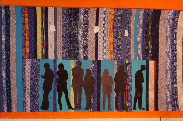 Anatomy of an Art Quilt Series - Construction Figures